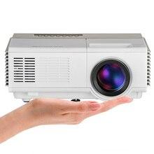 CAIWEI Mini LED Proyector WiFi Android Barato Proyector de Vídeo de cine en casa Portátil para Reproductor de DVD portátil de TV