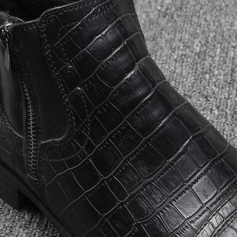 80d8695e3acd 39 48 Брендовые мужские ботинки Z6 Высочайшее качество красивый Удобные  Ретро кожаные сапоги martin   R5283 1   R5286 3 купить на AliExpress