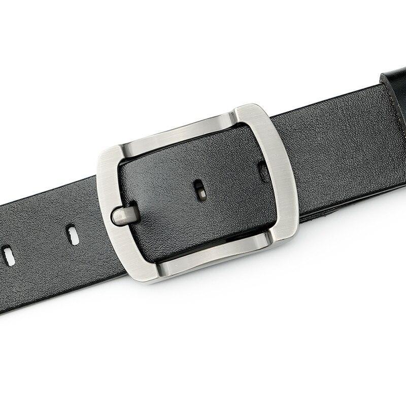 477c3b5faa9e JASGOOD Leather Belt Men Designer Dress Belt For Men Simple Casual Soft  Vintage Belt With Pin Buckle Cinturones Hombre-in Men s Belts from Apparel  ...