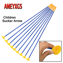 12/24pcs 23 Archery Children Sucker Arrow Safety Soft Rubber Suction Cup Arrows Kids Shooting Game Practice Accessories