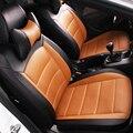 Cuero del asiento de coche especial cubre Para Volkswagen passat B5 B6 polo tiguan touran golf mk4 4 5 6 7 accesorios del coche jetta styling