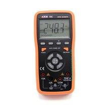 Digital Multimeter  AC/DC VICTOR 70C Portable Handheld Multimeter Auto range capacitance 200uF Data Hold/Diode