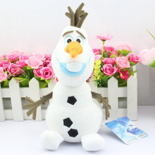Retail 1pcs Olaf Plush Kids Baby Toys 20CM Snowman Cartoon Olaf Stuffed Plush Toys Doll Olaf Dolls for Children Gifts