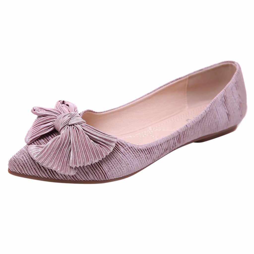 2019 Ondiepe Mond Enkele Schoenen Vrouw Casual Boog Wees Teen Zwarte Oxford Schoenen Voor Vrouwen Flats Comfortabele Slip Op Vrouwen schoenen