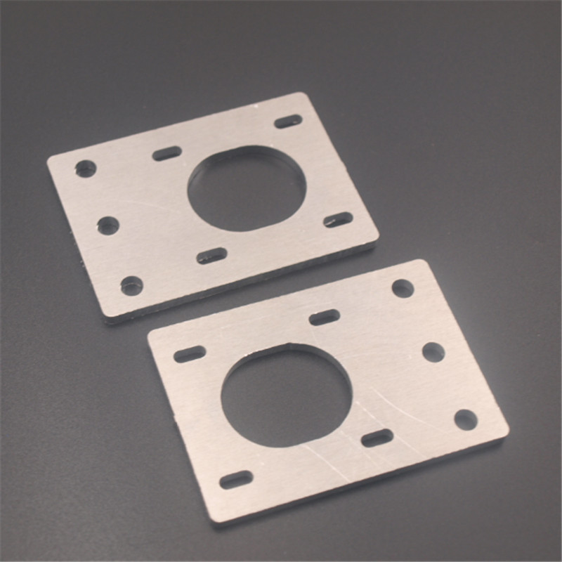 Funssor Adjustable NEMA 17 Stepper Motor Mounting Plate Fixing Bracket For Reprap D-bot Core-XY 3D Printer CNC 2020 Profiles