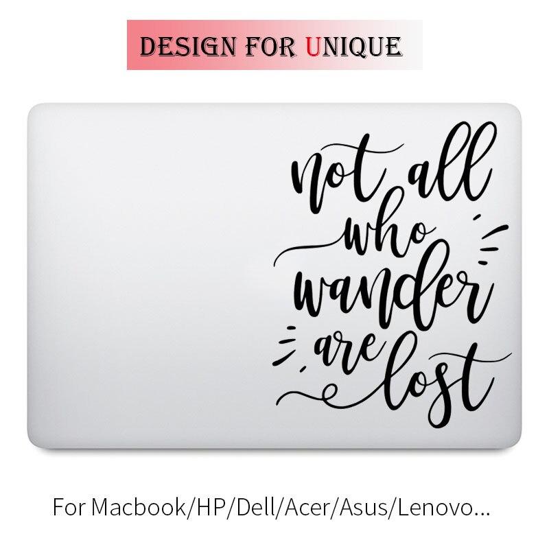 Motivational Quote Art Laptop Decal Sticker for Apple Macbook Pro Air Retina 11 12 13 15 ...