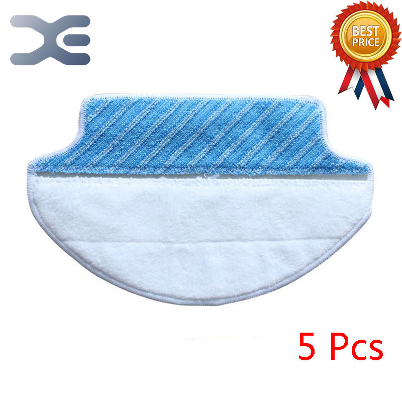 цена на 5 Pcs High Quality Sweepers Accessories Wipes For Ecovacs Vacuum Cleaner Parts