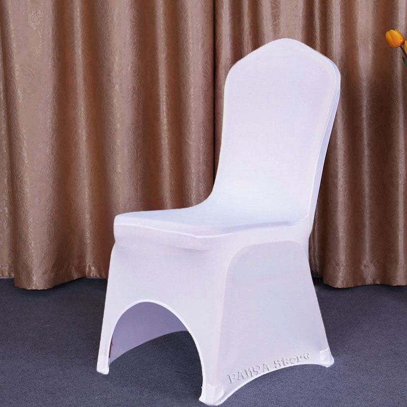 Chair Cover Universal Stretch Spandex Chair Cover Wedding Party Lycra White HOT