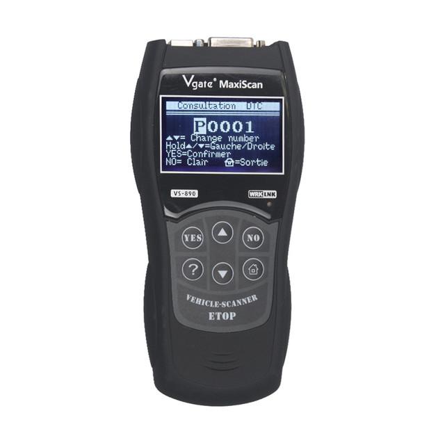 CARPRIE Instrument Tool 2019 NEW HOT SALE Universal Auto Vgate VS890 Code Reader Check Engine OBD2 EOBD Diagnostic Scanner 9530