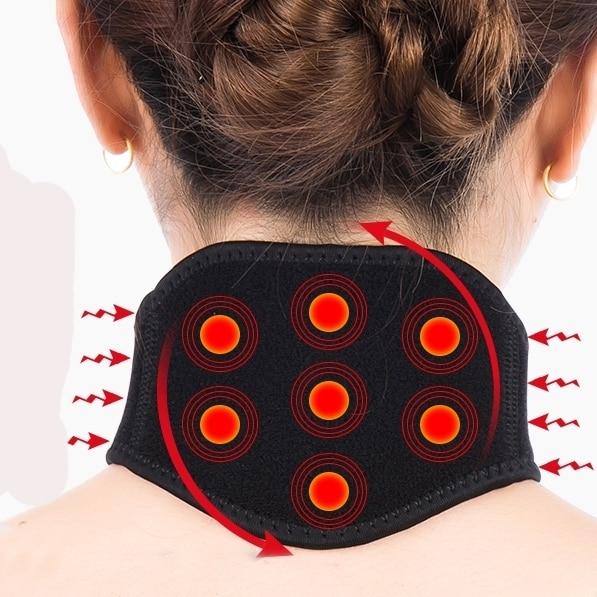 massage Self heating Neck masseur pain Belt Body building Universal fitness basketball sport accessories tape leg warmers
