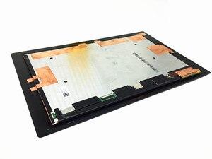 Para sony tablet z2 xperia sgp511 sgp512 sgp521 sgp541 preto painel digitador da tela de toque + display lcd montagem do monitor painel