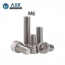 Key-Bolt Hex-Head Allen Socket-Cap Stainless-Steel-Machine Din912 M6 Automotive And Household