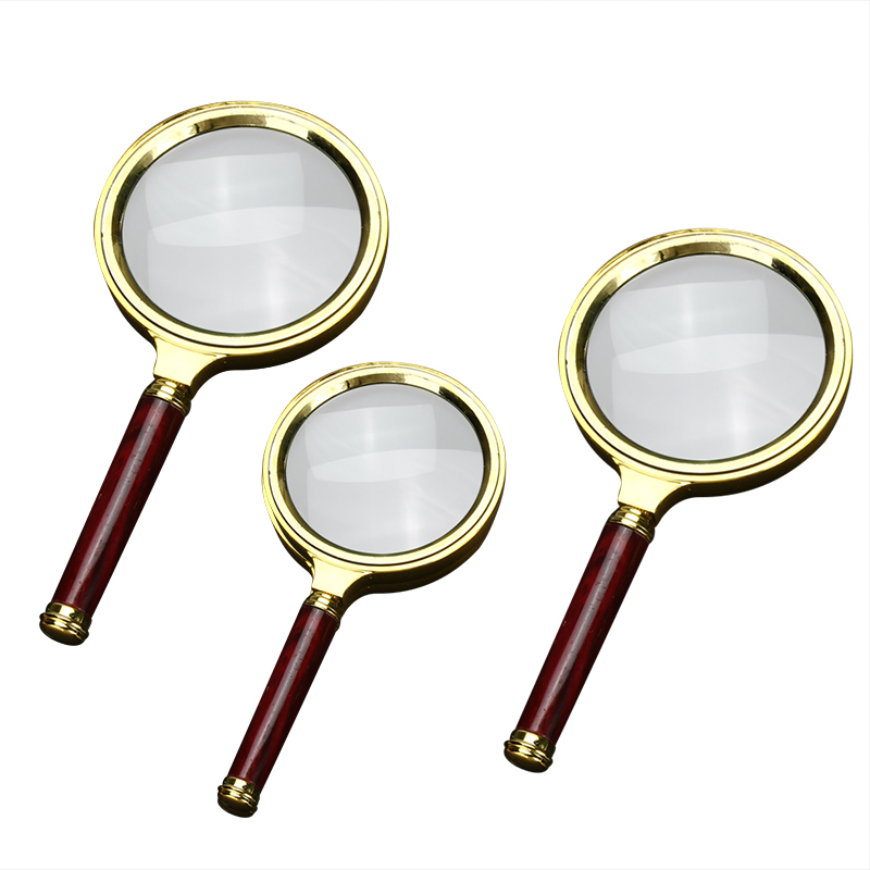 60mm 10X Magnifying Glass Portable Handheld Magnifier for Jewelry Newspaper Book Reading High Definition Eye Loupe Glass 10x magnifying glass 60mm portable handheld magnifier for jewelry newspaper book reading high definition eye loupe glass