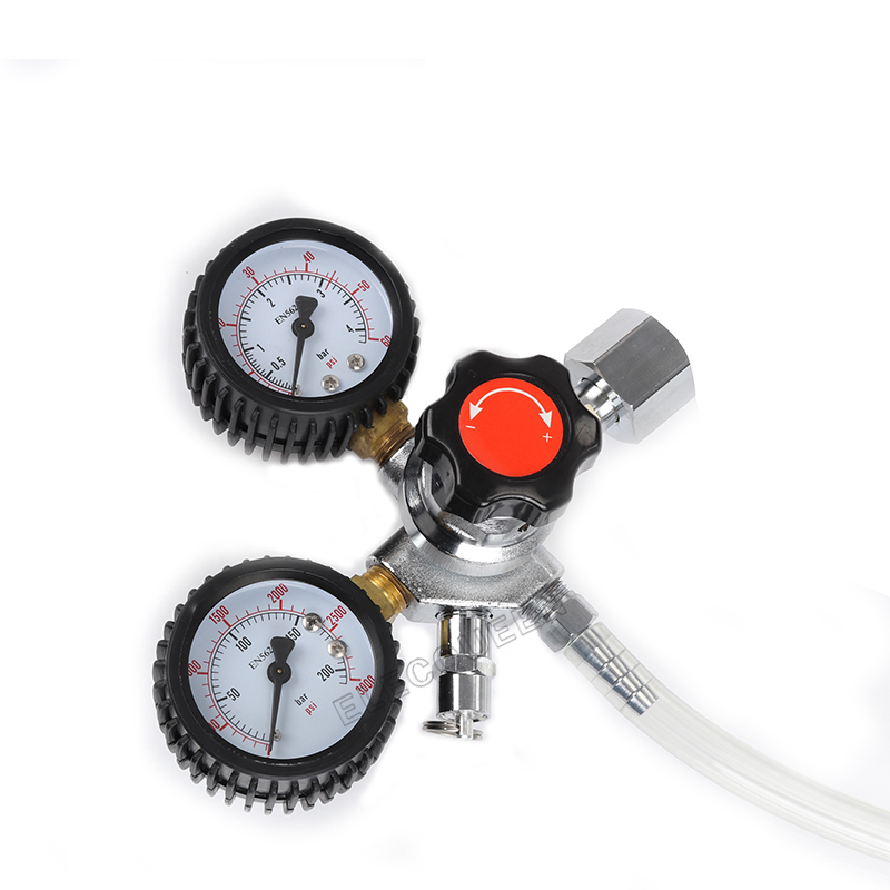 2.5 gallon 10L Cornelius style stainless steel  Beer  Keg & Faucet Tubing Kit & Co2 Regulator Dual Gauge