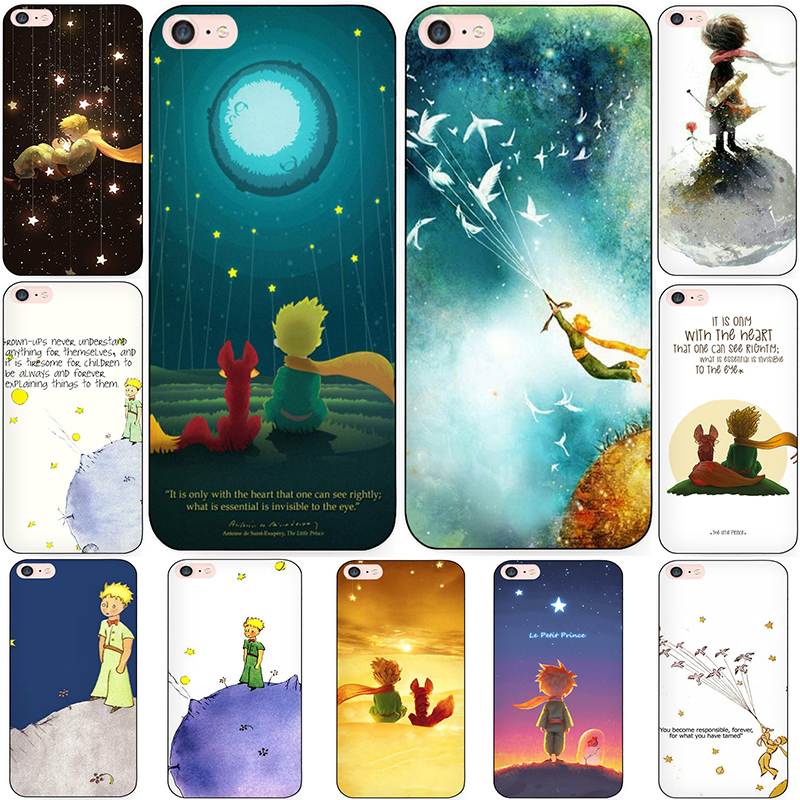 MaiYaCa The Little Prince Phone Case shell for iPhone 7 6 6S Plus X 8 5 5S SE 4S Case Cover
