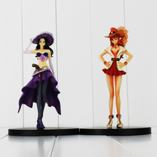 2Styles One Piece Anime Nami Nico Robin Ladies Figure Model Toys Dolls For Girls 17CM OPFG411