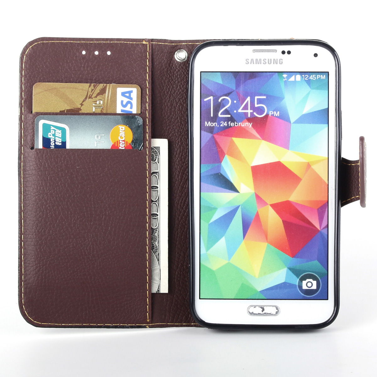 Case For Samsung Galaxy S6 Edge Plus S6 Edge+ G9280  Cover Soft Silicone & Flip Leather Case For Galaxy S6 Card Slot Phone Shell