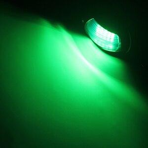 Image 5 - 1 par de luces de navegación para barcos marinos, 12 V, rojo, verde, accesorios para barcos marinos