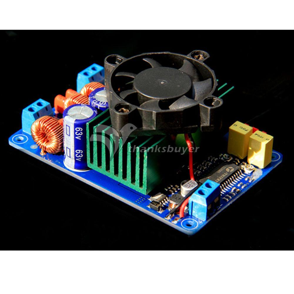 Class T Digital Amplifier Board Stereo 2x160W HIFI AMP with Fan for Audio DIY Better than