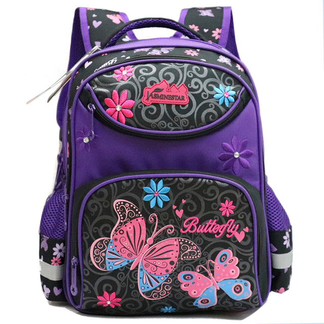 GCWHFL Backpacks School Tasker Blomster