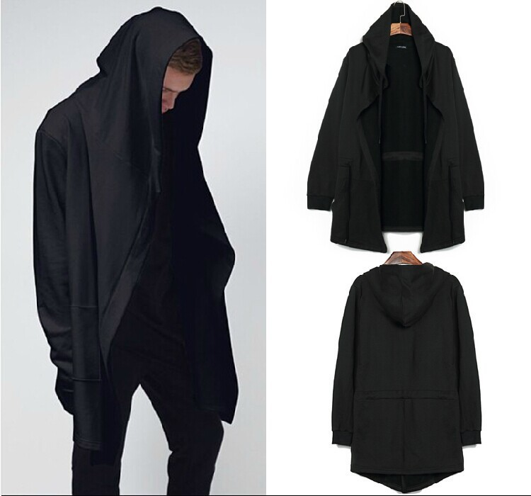 Online Get Cheap Long Black Cardigan Hoodie -Aliexpress.com ...