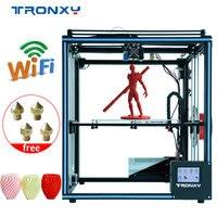 TRONXY обновлен 3D принтеры X5SA Высокая точность большой печати Размеры 330*330*400 мм Drucker нити Run Out обнаружения Impressora