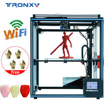 TRONXY Upgraded 3D printer X5SA High Accuracy  Large Printing Size 330*330*400mm Drucker Filament Run Out Detection Impressora tronxy 3d printer kit printing plus size 330 330 400mm metal frame structure high precision 3d printer diy kit dual z lead screw