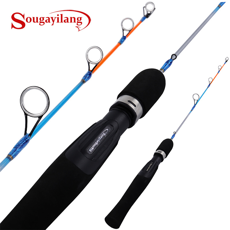 Sougayilang 64cm Ice Fishing Rod with Lightweight EVA Handle Winter Fishing Rods Fishing Tackle Gear|Fishing Rods|   - title=
