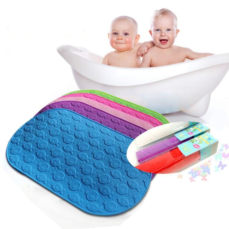 Oval Shower Mats Anti Skid Pvc Silicone Bath Mat Powerful