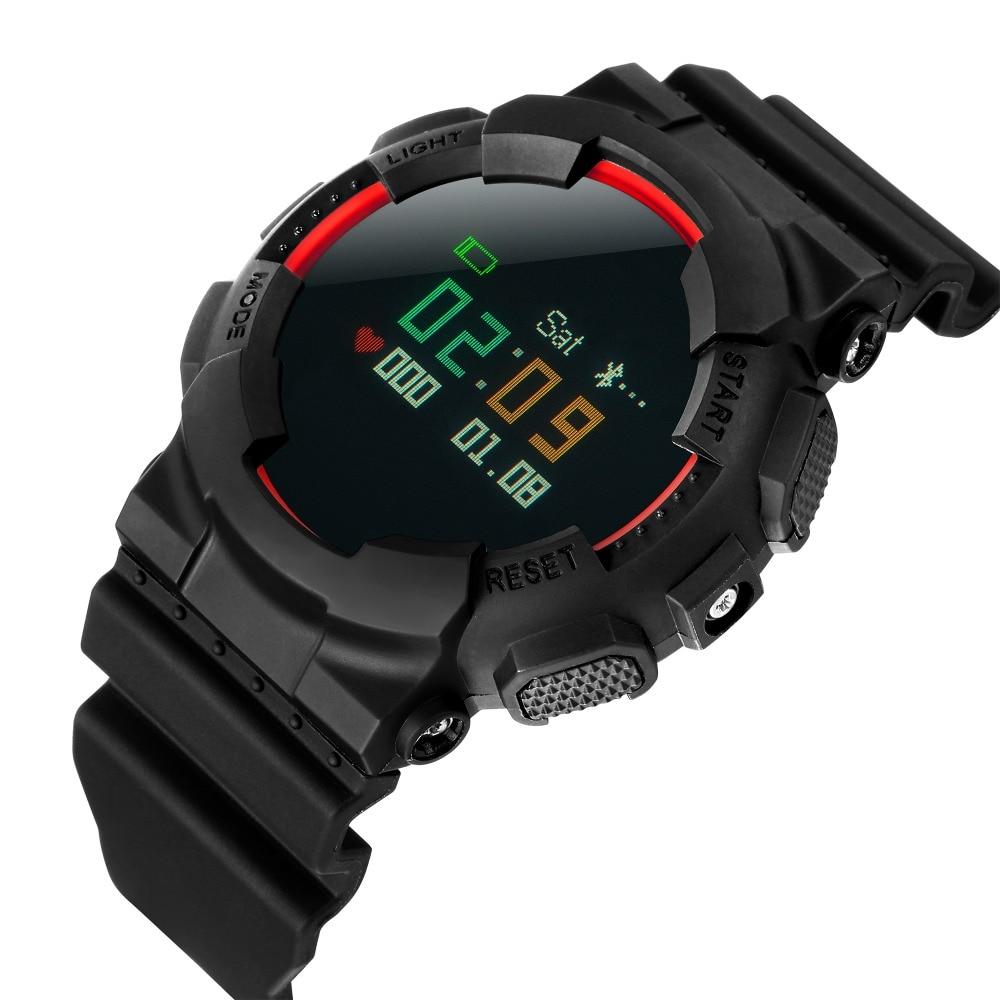 New Heart Rate Smart Watch Pulse Blood pressure Smart bracelet for swimming diving Waterproof Sport Wristwatch for Men and Women new lf17 smart watch