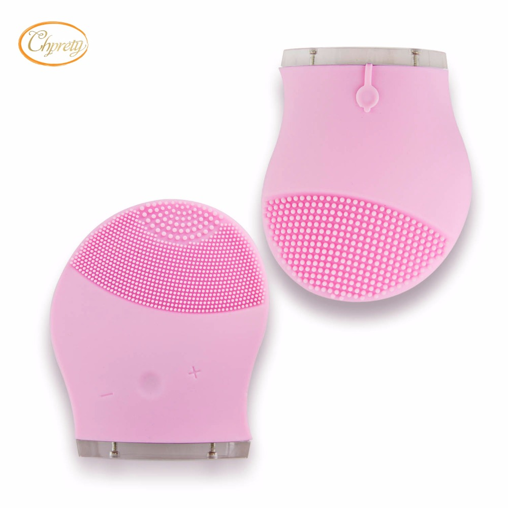 Silicone Electric Facial Cleansing T Sonic Brush Face Skin Cleanser Care Massage from Mythsceuticals in Face Skin Care Tools from Beauty Health