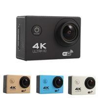HAMTOD HK2TR 2,0 дюймовый ЖК-экран 170 градусов широкоугольный HD 4 K WiFi камера с пультом дистанционного управления и водонепроницаемый чехол