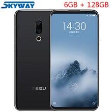 Orijinal Meizu 16th Artı 16 Artı 4G LTE 6 GB 128 GB Snapdragon 845 Octa Çekirdekli Adreno 630 6.5