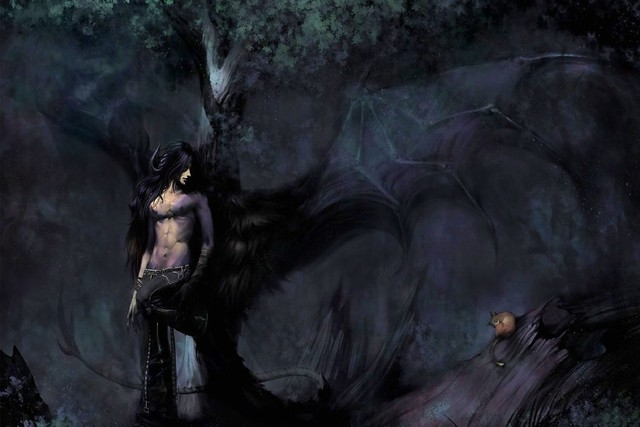 DIY RAHMEN Dark Kunst psychedelic nackt mann in einem