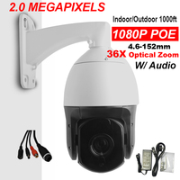 CCTV Security HD IP 1080P 2 0MP High Speed Dome PTZ Camera Pan Tilt 33X 30X