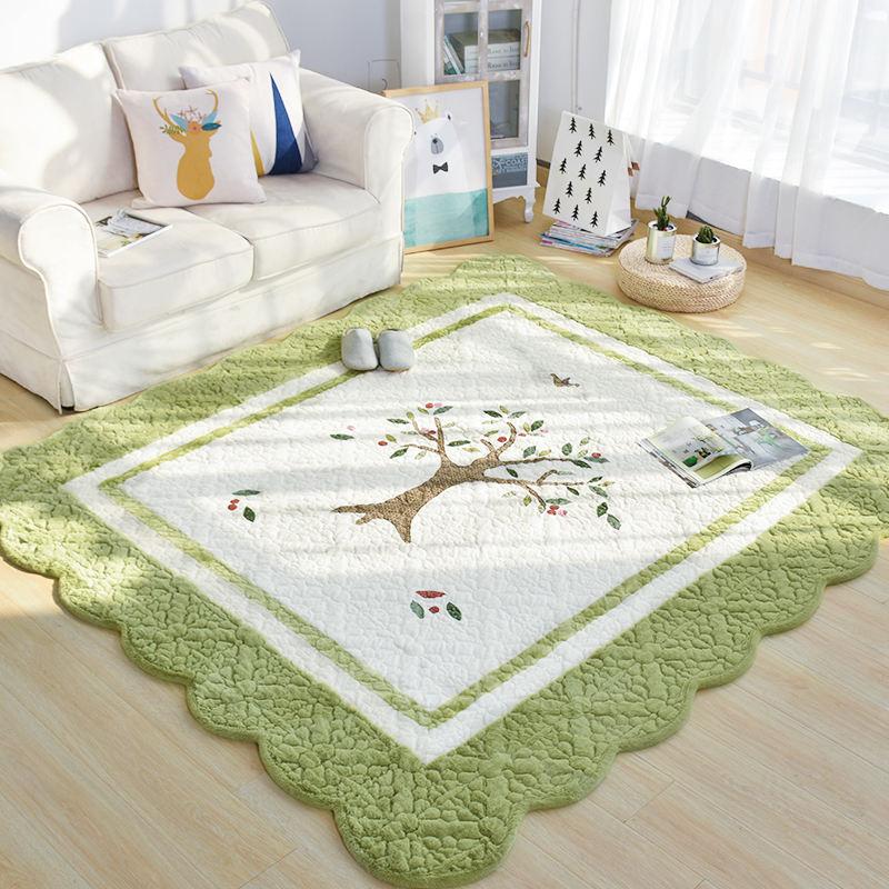 Tapis épais 200X230 CM ModernCarton pour salon maison chambre tapis et tapis Table basse tapis Tatami enfants tapis de jeu