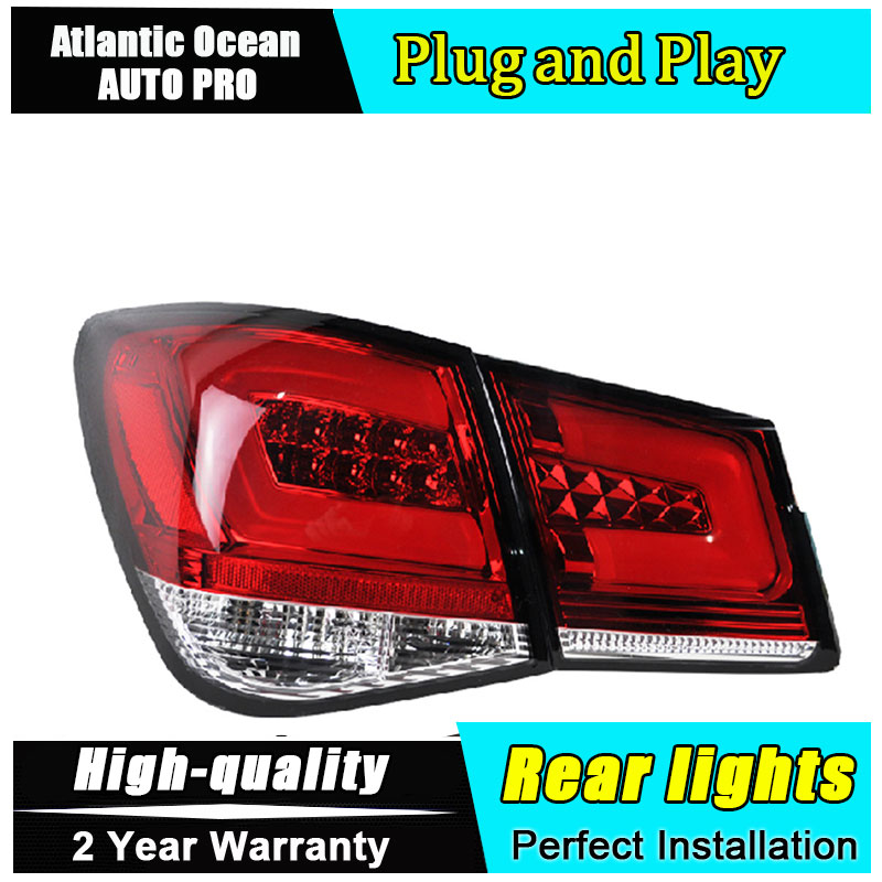 Benz Style Rear Trunk LED Tail Light Lamp 4Pcs For CHEVROLET 2010-2014 Cruze