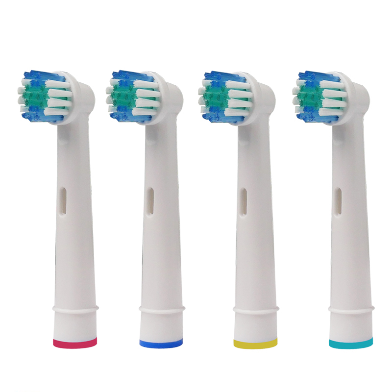 4PCS Replacement Toothbrush Heads Compatible for Oral b Sensitive Clean/SmartSeries/ Vitality/PRO Health electric toothbrush designs for health prenatal pro essential packets 60 pkts