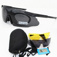 купить 2019 Men Sunglasses Military polarized Lens Safety Glasses Tactical Army Goggles TR90 Frame Outdoor Hunting Combat Wargame ICEer дешево