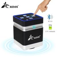 Adin Bluetooth Speaker Resonance Vibration Speaker 26W Wireless Portable Music Speakers Box Touch Support Handsfree Subwoofer