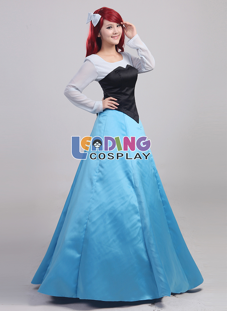 8ce3a60a0516e Custom Made The Little Mermaid Costume Dress Princess Ariel Dress Adult  Ariel Costume Dress-in Anime Costumes From Novelty U0026 Special Use On ...