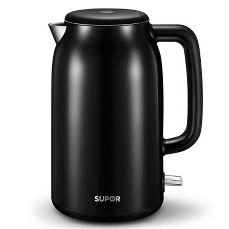 New SUPOR Household Electric Kettle 1 7L Stainless Steel Water Boiler Double Anti scalding 8 Hours