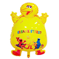 Yellow Color Big Bird Balloon Sesame Street Elmo Foil Balloons 41x68cm Giant Cartoon Birthday Kids Baby Boy Girl Party Kids Toys
