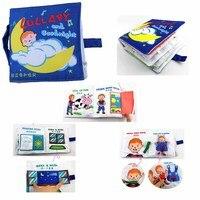 Đồ Chơi Trẻ Sơ Sinh Trẻ Em Phát Triển Sớm Sách Vải Giáo Dục Học Tập Mặc Sách Kể Câu Chuyện của Phong Cách Baby Yên Tĩnh Cuốn Sách C006