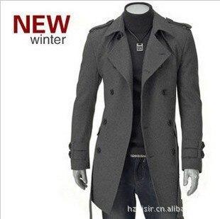 Trench PüNktlich 2018 Verkauf Top Baumwolle Volle Regelmäßige Herren Graben Mantel Britischen Stil Designer Männer Herbst Winter Zweireiher Winddicht Plus Größe