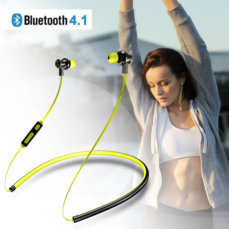 TWS V4.1 Strong Bass Bluetooth Earphones Mangetic Neckband Sport Headphones For Apple iPhone Samsung Xiaomi Wired Music Earbuds наушники samsung earphones advanced anc серебристые