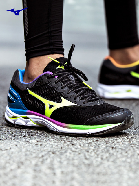 8efe03768884 Mizuno Wave Rider 21 Osaka Running Shoes For Men Women Breathable Cushion  Sport Shoes Comfort Jogging