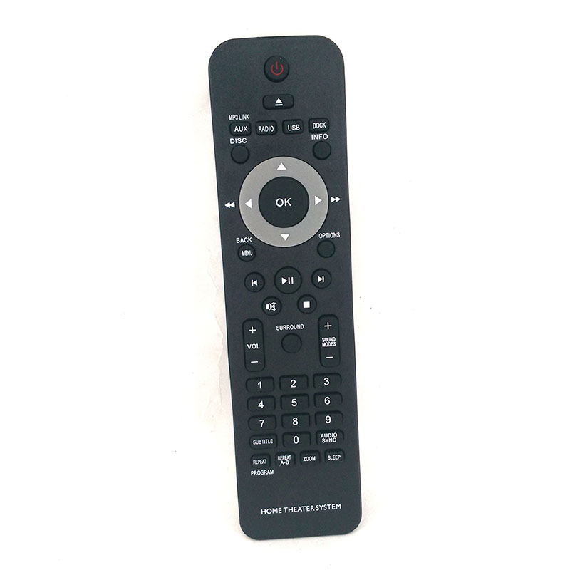 2PCS/LOT New Remote Control For <font><b>Philips</b></font> <font><b>HOME</b></font> <font><b>THEATER</b></font> SYSTEM <font><b>Remoto</b></font> <font><b>Controle</b></font> Fernbedienung <font><b>Remoto</b></font> Controller image