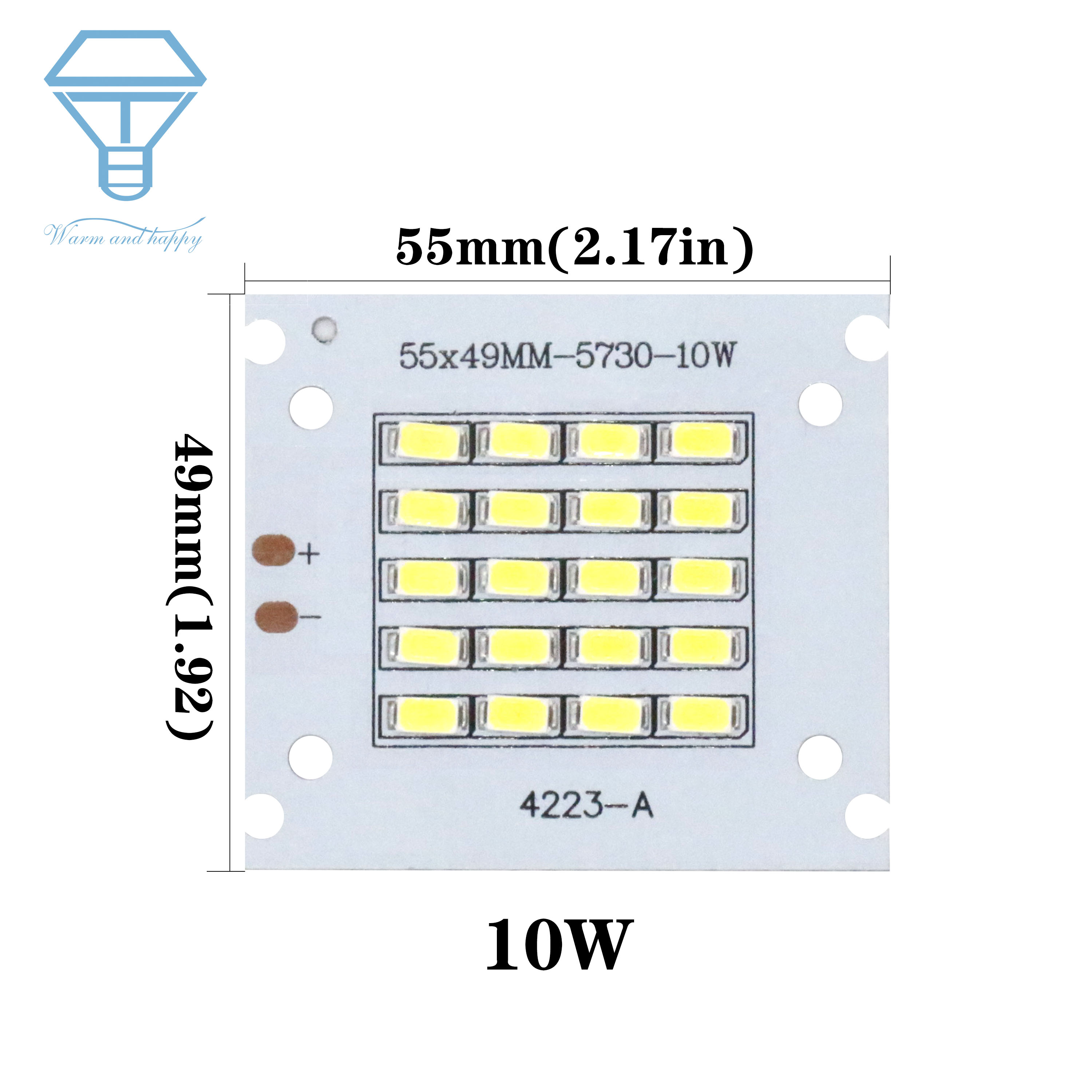 50W 100W 150W 200W SMD5730 LED Chip Lamp Beads High Power LED Floodlight 30-36V For Indoor Outdoor DIY PCB Kit