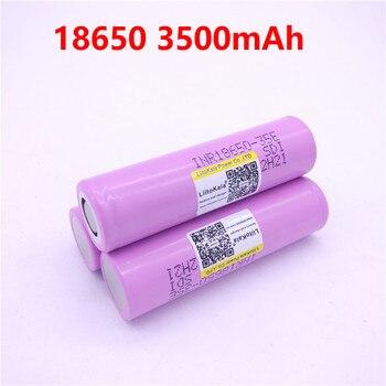 Liitokala 18650 3500 mAh 13A de INR18650 35E INR18650-35E 18650 batería Li-Ion 3,7 V batería recargable